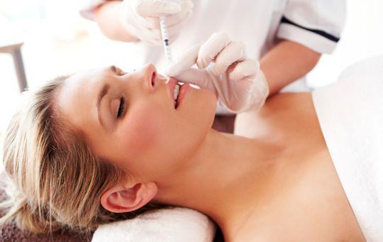 Aplicação Botox no Rosto